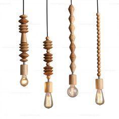 Get light into your home! Modern Pendant Light, Pendant Lighting, Pendant Lamps, Chandeliers, Deco Luminaire, Ideas Prácticas, Lamp Cord, Paper Light, Candle Stand
