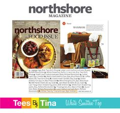 Northshore Magazine recommends our White Smitten Top for an essential travel fashion piece!