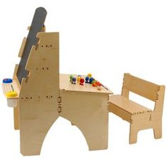Sweet toddler combo art desk