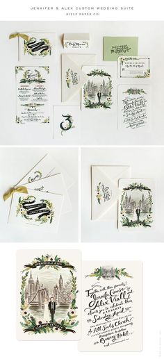 Rifle Wedding Invitations