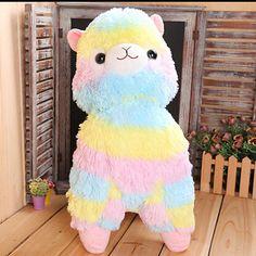 Fluffy rainbow Alpacasso from Pastel Rainbow: https://www.facebook.com/parainshop/