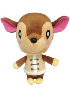 This new line of plush features all your favorite characters from the fan favorite video game Animal Crossing. Characters include Kapp'n, Cyrus, Bewster, Rover, Bunnie, Fauna, Tom Nook, and two clerk'