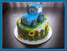 Fondant Flower Cake, Fondant Bow, Fondant Cakes, Fondant Figures Tutorial, Cake Tutorial, Chocolate Fondant, Modeling Chocolate, Birhday Cake, Beautiful Birthday Cakes