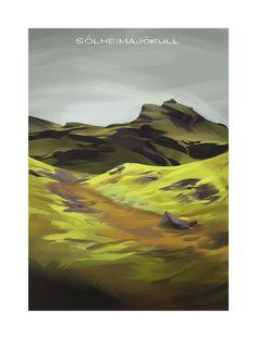 """Sólheimajökull"" by Claire Hummel"