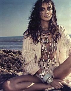 Wild boho chick - ☮k☮ Style Hippy, Ethno Style, Gypsy Style, Bohemian Style, Tribal Style, Boho Chic, Hippie Chic, Gypsy Chic, Wild Child