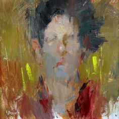 Youth, by artist Lon Brauer  @paintingcontest #PaintingCompetition #WinMoney #representational #abstract