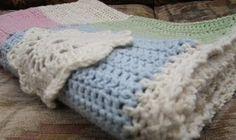 My first crochet blanket inspired by #dottieangel
