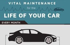 Vital Maintenance For The Life Of Your Car [Infographic]