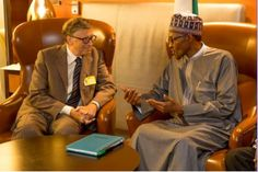 Nigerian President Buhari holds bilateral meeting with former British PM, Gordon Brown, Bill Clinton & Bill Gates    - http://www.nollywoodfreaks.com/nigerian-president-buhari-holds-bilateral-meeting-with-former-british-pm-gordon-brown-bill-clinton-bill-gates/