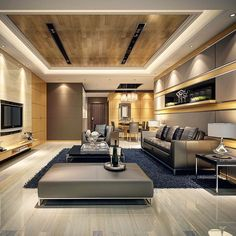Contemporary can look luxury and elegant. Right combination of light and colors and materials gives you that effect.