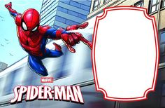 Spiderman Invitation Templates Free Awesome Printable Spider Man Birthday Template