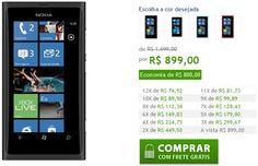 Lançamento do WP8 gera baixas nos preços dos aparelhos Nokia Lumia