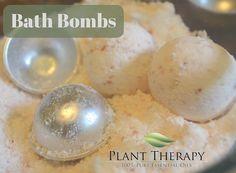 Organic Lavender Bath Bombs Recipe