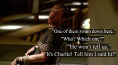 """Lost -- Charlie, """"Tell him I said hi. Lost Tv Show, Lost Quotes, Living Together, In Another Life, Say Hi, Best Shows Ever, Best Tv, Losing Me, Favorite Tv Shows"""