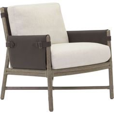 Buy Bercut Lounge Chair by McGuire Furniture - Quick Ship designer Furniture from Dering Hall's collection of Contemporary Lounge Chairs.