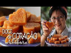 DOCE DE ABÓBORA DE CORTE | DOCE DE CORAÇÃO | DIKA DA NAKA - YouTube