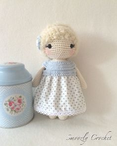 lovely Doll Isa  by Smoozly Crochet