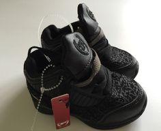 Size 4 toddler black dress shoes