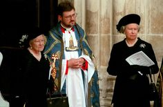 Great Lessons the Queen learned. Diana changed the Monarch. On of September The Queen Mother and Queen Elizabeth II attend the funeral of Lady Diana, Princess of Wales in Westminster Abbey Picture: Durand-Le Segretain-Orban-Polak/Sygma/Corbis Royal Queen, Royal Princess, Prince And Princess, King Queen, Princess Diana Funeral, Queen And Prince Phillip, Princes Diana, Her Majesty The Queen, Elisabeth