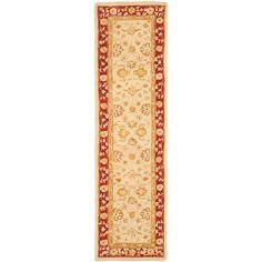 Anatolia Ivory/Red 2 ft. 3 in. x 16 ft. Runner