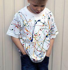 Kids Paint Spatter T-Shirt