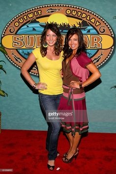 Micronesia Finalist Amanda Kimmel And Winner Parvati Shallow Attend The Survivor Finale Reunion
