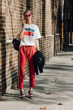 30 Best Summer Outfits Stylish and Comfy The Best Street Style From Australian Fashion Week The Best of street fashion in Sport Fashion, Look Fashion, Daily Fashion, Fashion Outfits, Womens Fashion, Fashion Trends, Fashion Clothes, Cheap Fashion, Fashion Fall