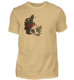 Denmark Dänemark Tee Shirt Geschenk T-Shirt Mens Tops, Fashion, Presents, Moda, Fashion Styles, Fasion