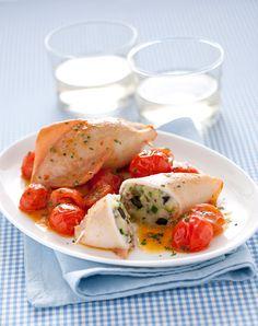 Cucina i calamari ripieni all'amalfitana per portare in tavola tutto il buono del Mediterraneo. Scopri com'è facile con la ricetta di Sale&Pepe.