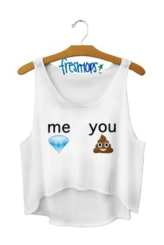 Amazing shirt!!!! Go to freshtops.com to look at adorable graphic tees and jaw dropping crop tops!!!!