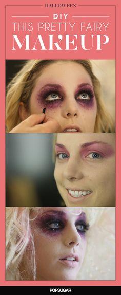 You need to #DIY this gorgeous fairy #Halloween #makeup.