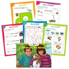 What Do We Need? Ebook & Worksheets – Creative Teaching Press Improve Reading Comprehension, Reading Strategies, Learn To Read Books, Nouns And Pronouns, Hidden Words, Creative Teaching Press, Spelling Patterns, Math Work, Emergent Readers