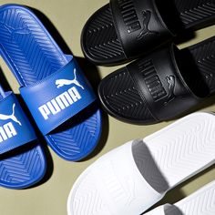 64105b8ecb30d8 Get ready for summer with the Puma Popcat Slide Sandal. Puma Slippers