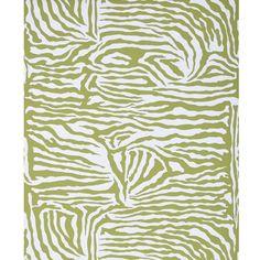 "@Kravet - Brunschwig & Fils ""Ashanti on Paper"" in Chartreuse Wallpaper"