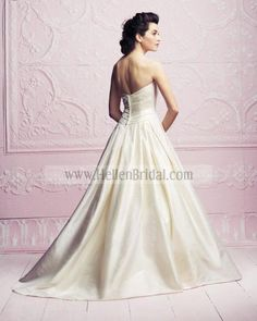 Gown 4262 | 2012 Spring Collection | Paloma Blanca (back)