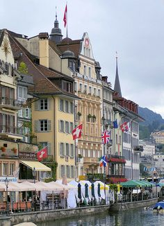 Lucerne old town, Switzerland