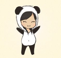 Chibi Panda by NnjaPanda.deviantart.com on @deviantART