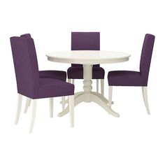 LIATORP/HENRIKSDAL Table and 4 chairs   - IKEA Need to change colour of chairs to navy or grey or lime green?