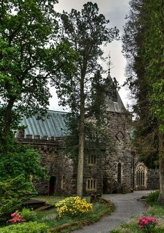 St Conan's Church,  Loch Awe, Scotland