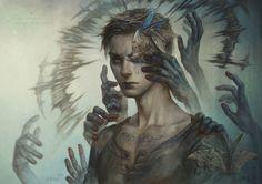 Otherworldly digital portraits by Magdalena Pagowska (Len-yan                                                                                                                                                     More