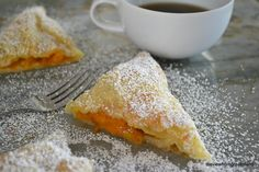 Fresh Fruit Turnovers (calls for apricots but substitute other fruits)