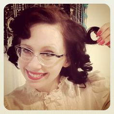 how to pin curls
