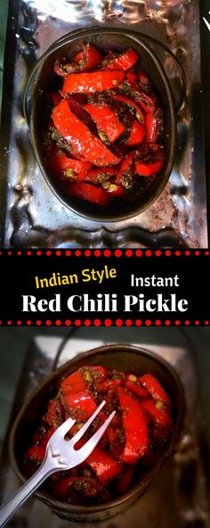 Instant Red Chili Pickle (Indian Style) – Lal Mirch ka Achaar…