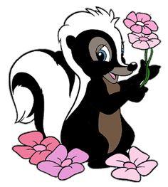 Bambi's Flower the Skunk Clip Art Images | Disney Clip Art Galore