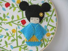 kokeshi doll by gugy, via Flickr