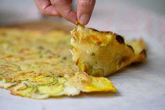 פוקאצ'ית קישואים ב-10 דקות | לייזה פאנלים Vegan Pastries, Italian Pasta Dishes, Recipies, Veggies, Appetizers, Pizza, Vegetarian, Cheese, Chicken