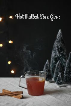 The ultimate hot mulled sloe gin recipe - totally delicious | Growing Spaces