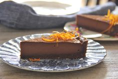 Decadent Chocolate Orange Tart