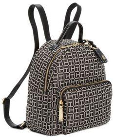 8bb45ac11ec Tommy Hilfiger Julia Logo Jacquard Dome Backpack