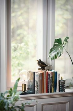 Most Attractive Window Ledge Decor Ideas – The Architecture Designs - Modern Bedroom Windows, Living Room Windows, Living Room Decor, Bedroom Decor, Bedroom Lamps, Bedroom Inspo, Living Rooms, Window Seal, Bay Window